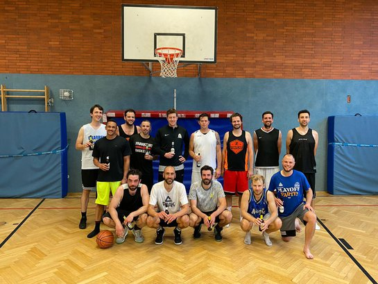Basketball Teamfoto